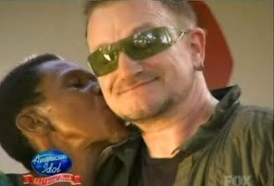 Bono en Africa Idol Gives Back