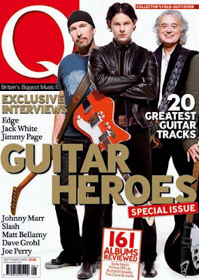 the Edge en Q magazine: guitar heroes