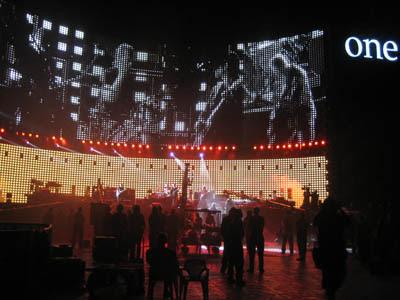 U2 3D grabacion