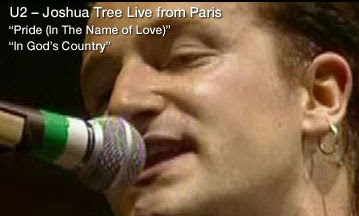 Videos de The Joshua Tree, Limited Edition Super Deluxe