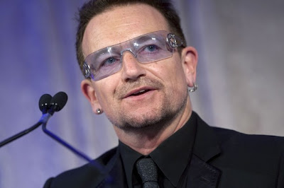 Bono 2010 Atlantic Council Humanitarian Leadership Award 2