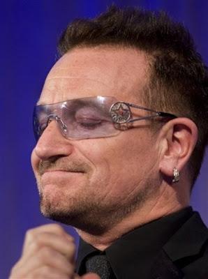 Bono 2010 Atlantic Council Humanitarian Leadership Award 4