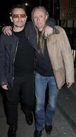 Bono y guggi en Dublin 2008