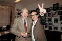 Bono y el senador Jesse Helms
