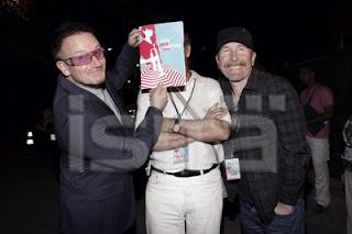 Bono y Edge en el Festival de Jazz de Niza