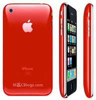 iPhone 3G en Product RED