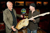Peter Gabriel y The Edge en Londres 2008
