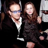 Bono y Jordan Hewson