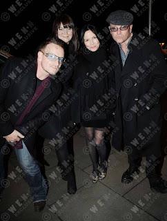 Bono, Andrea Corr, Gavin Friday, Dublin 2008
