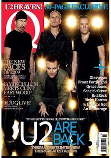 U2 Q Magazine Cover: Enero 2009
