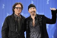 Edge y el director Davis Guggenheim