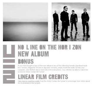 U2 No Line On the Horizon Bonus - Linear