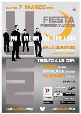 Fiesta U2 en Valencia
