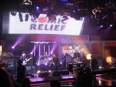 U2 en el Red Nose Day para Comic Relief