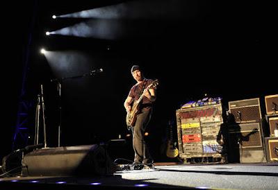 Fotos de U2 ensayando en Barcelona para U2 360 Tour 2