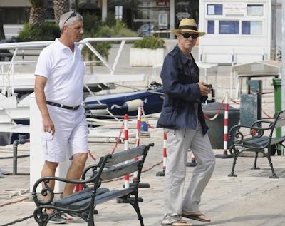 Adam Clayton y su novia en Dubrovnik 4