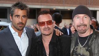 Bono, Edge y Collin Farrell en Toronto