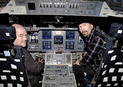 Edge y Paul en la NASA