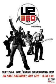 U2 360 tour bruselas 2010