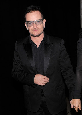 Bono en la celebración de cumpleaños de Sean Diddy Combs