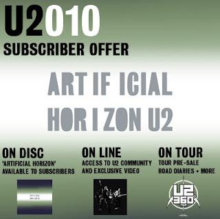 u2 artifical horizon