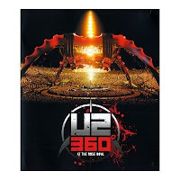 U2 360 at the rose bowl DVD Blu-ray