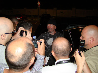 The Edge en turin julio de 2010