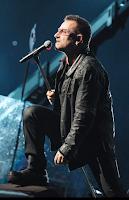 Bono en el concierto de U2 360 Tour en Rose Bowl
