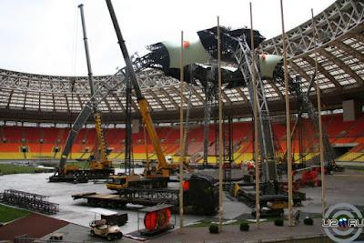 U2 360 Tour en Moscu, Rusia