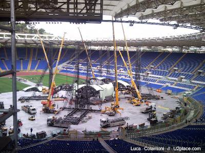 U2 360 Tour Roma