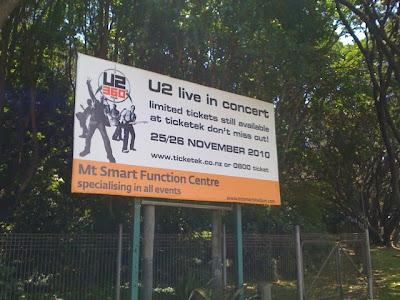 U2 360 Tour a Auckland, Nueva Zelanda 2
