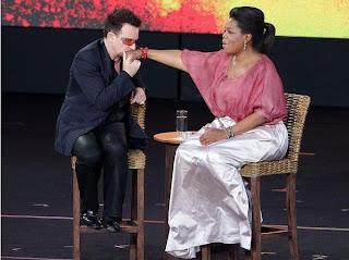 Bono y oprah en Australia