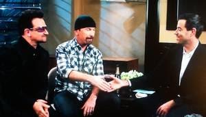 Bono y Edge en la NBC por Año Nuevo 2011