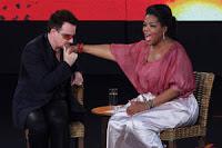 Bono y Oprah en Sydney