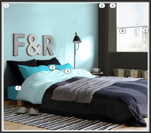Bilik Tidur Merupakan Ruang Rehat Yang Paling Utama Diikberatkan Maka Warna Menenangkan Dan Harmoni Perlu Diterapkan Di Dalam Ini
