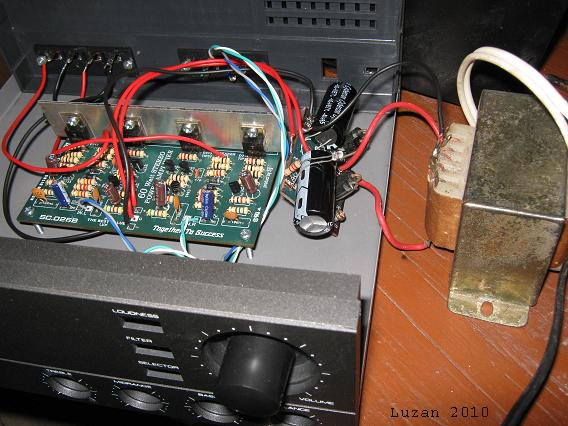amplifier using tip31c electro circuit schema datasheet. Black Bedroom Furniture Sets. Home Design Ideas