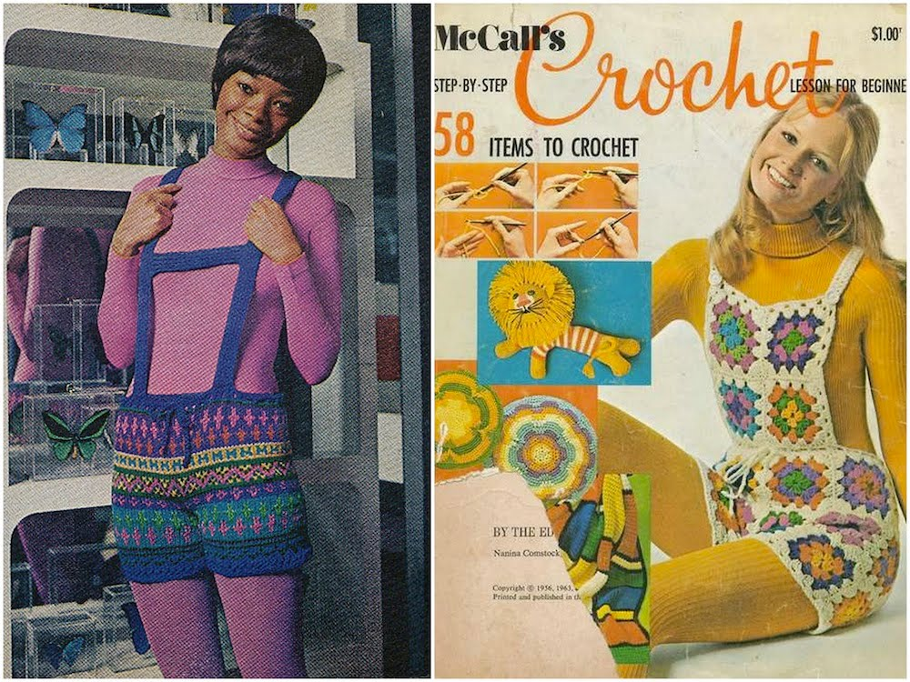 Image result for Crochet 70's