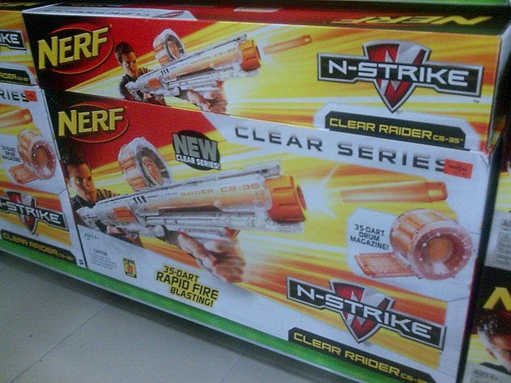 Bru Nerf New Blaster Stock At Toys R Us Miri
