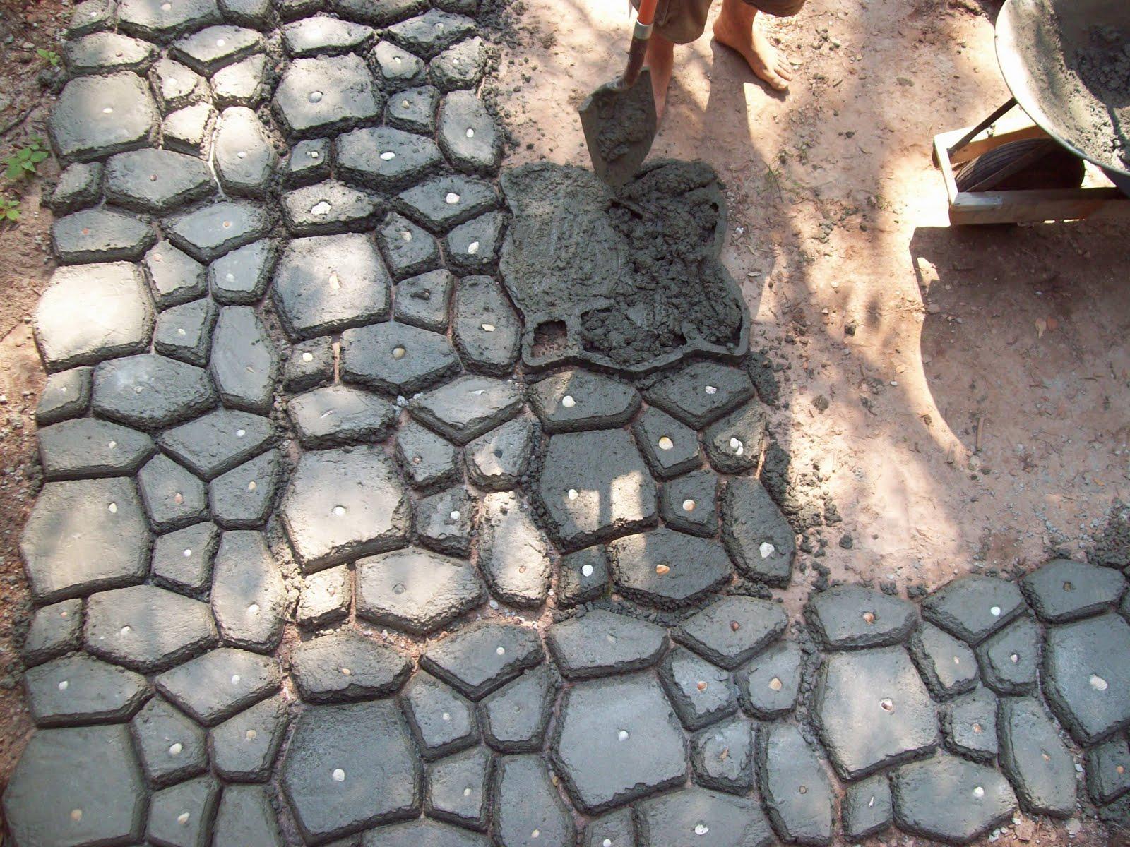 Concrete Patio Stone Molds