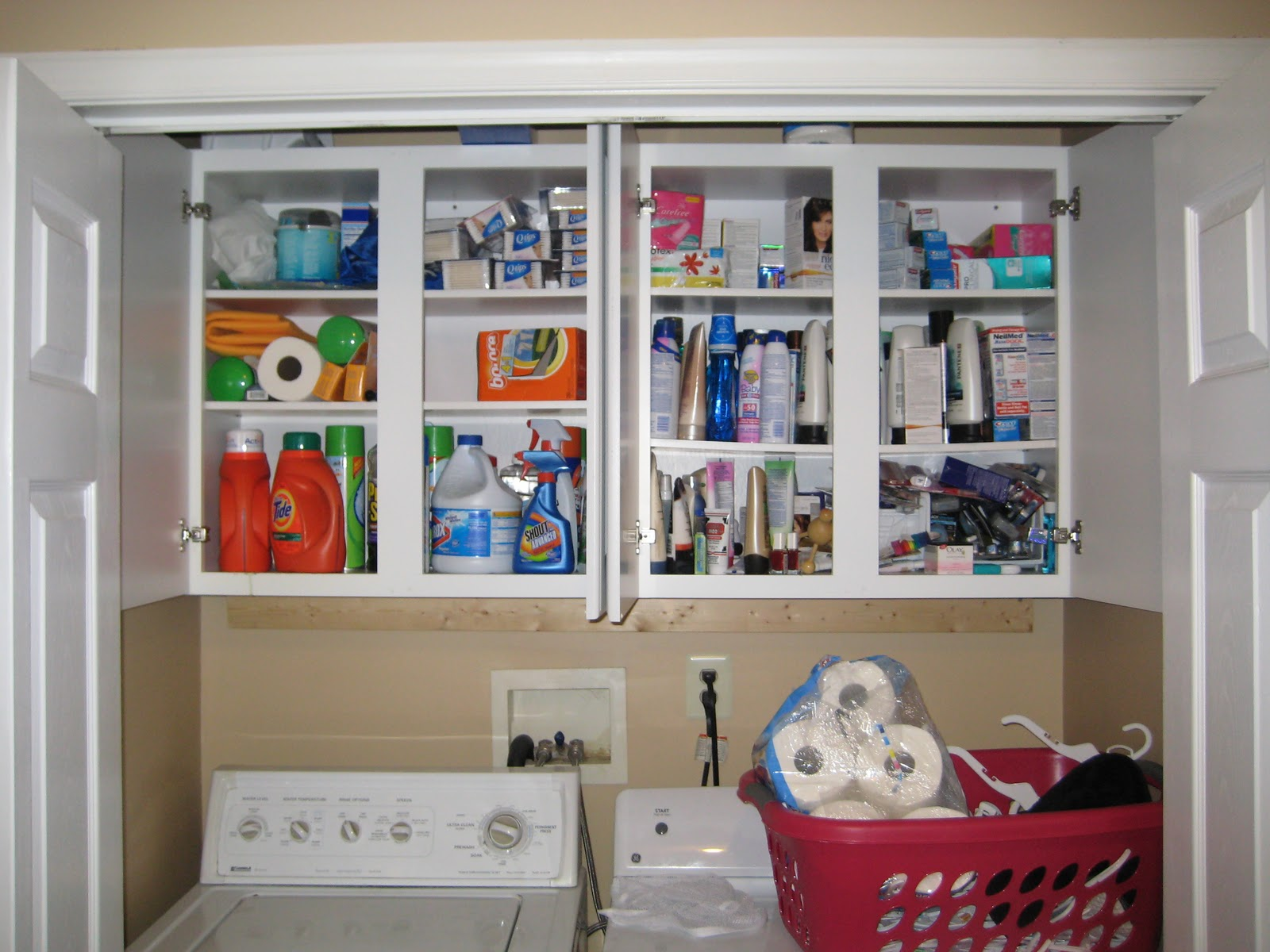 laundry room closet organization | Making Our House A Home: Day #10 - Laundry Room/Closet ...