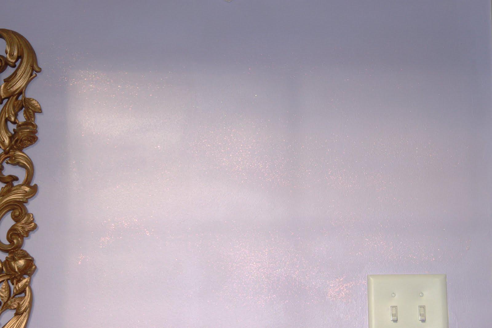 pink glitter wall paint - photo #7