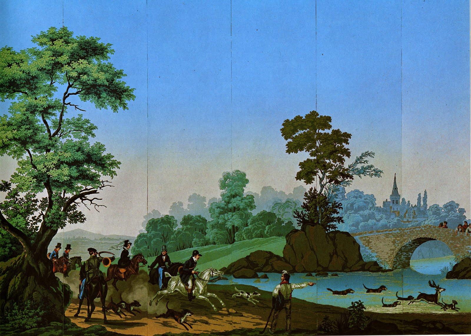 Cityzenart 19th Century French Scenic Wallpapers