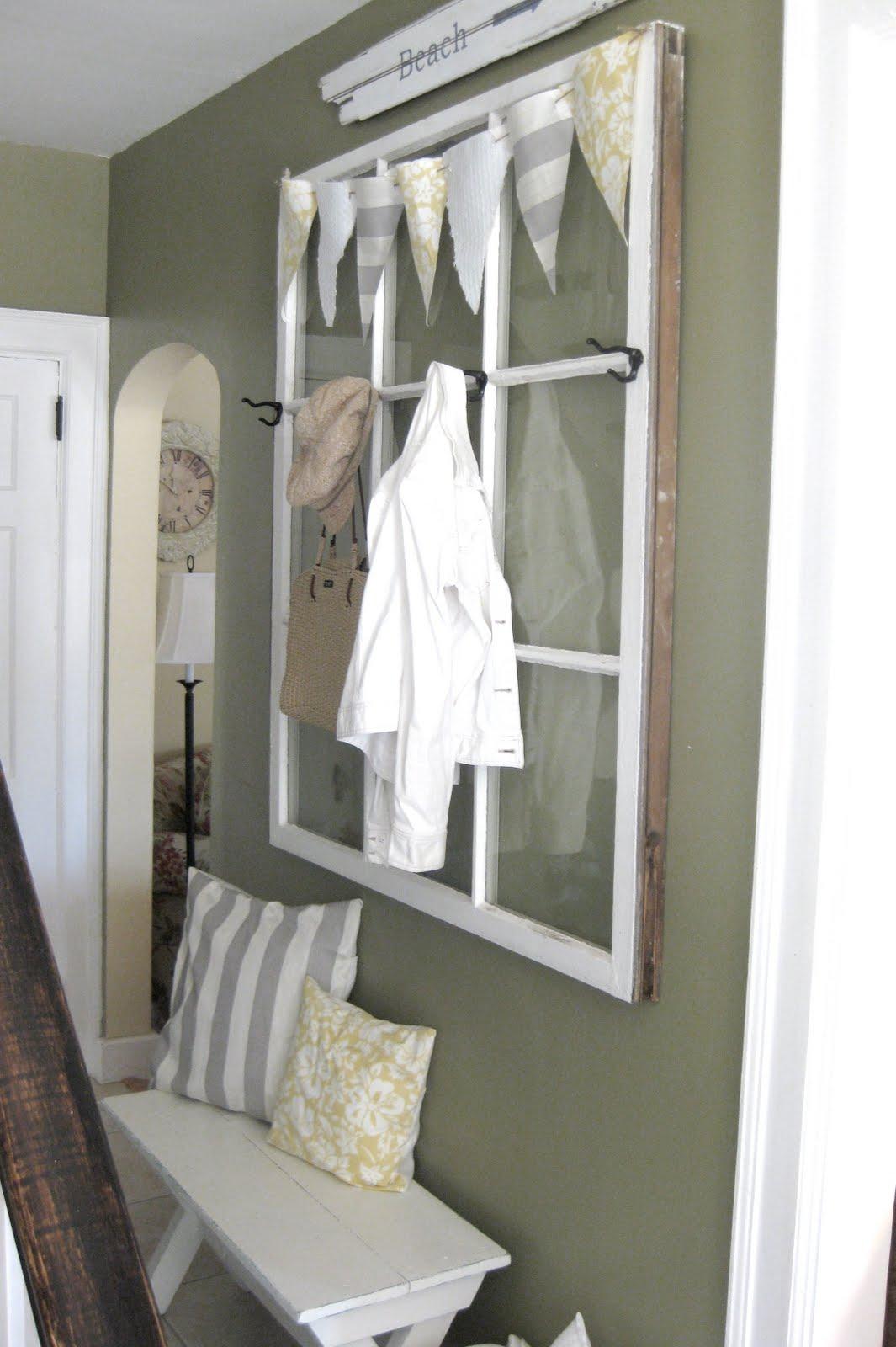 Ideas Using Old Window Frames