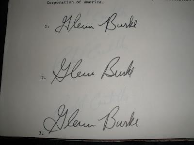 Glenn Burke Signature Guide 1978, The Year it all began