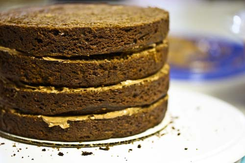 how to stack wedding cake layers cooking books this is my wedding cake i made it 16177