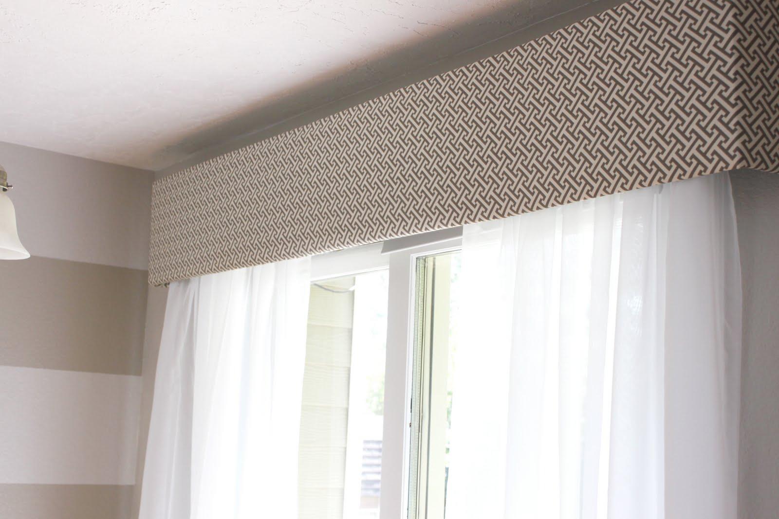 OMH: Cornice Box Help and the Sliding Glass Window