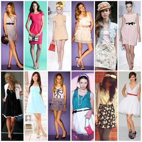 modelos de saias lady like