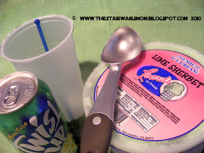 Favorite Star Wars Party Drink - Yoda Soda Floata