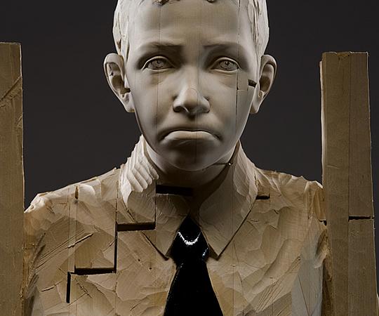 Esculturas em Madeira por Gehard Demetz - 05