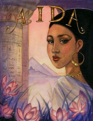 What is the story of the opera, Aida?